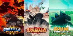 Three new Godzilla games are coming to mobile platforms this year