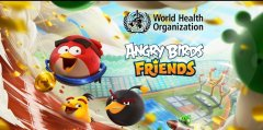 Angry Birds Friends has team up with the World Health Organization to promote healthy and active lifestyles