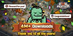 Evil Hunter Tycoon, Super Planet's popular management game, has reach four million downloads