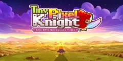 Tiny Pixel Knight is an idle RPG available in beta testing for Android devices