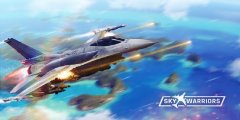 Sky Warriors: Airplane Combat is a new multiplayer aerial combat game released for Android and iOS