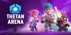 Thetan Arena is an NFT based arena shooter game available in early access for mobile devices