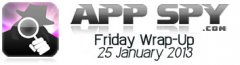 Friday News Wrap-Up 25 January 2013