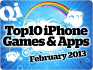 QI's top iPhone Games for February 2013