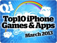 QI's Top 10 iPhone Games for March, 2013