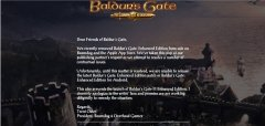 Baldur's Gate: Enhanced Edition Removed from App Store