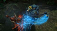 Rev your chainswords for the debut trailer of Warhammer 40,000: Space Wolf
