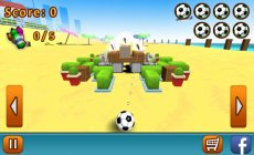 Kick the Ball! involves flick controlled destruction