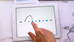 Ingenious line-drawing puzzler Blek now available on iPhone