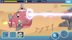 Avoid alien invasion by a whisker in tower-defence shooter Naughty Kitties
