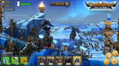 Take ramparts apart in CastleStorm, crashing onto the App Store this spring
