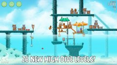Angry Birds Rio gets 26 new aquatic levels in High Dive update
