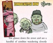 Comedy-horror text adventure Zombocalypse Now shambles onto the iPhone and iPad