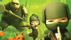 Cute auto-runner Mini Ninjas going free on iPhone and iPad