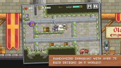 Pixel-art roguelike Devious Dungeon charging onto the App Store tonight