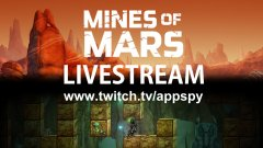 We're playing Mines of Mars on Twitch at 5pm GMT today. Join us!