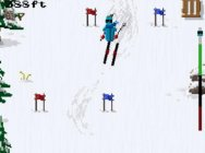 Pixel-art skiing game Dudeski will be released at midnight tonight