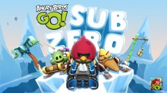 Angry Birds Go! gets icy new track in Sub Zero episode