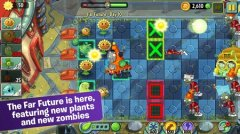 Fight the future in new Plants vs. Zombies 2 sci-fi level pack