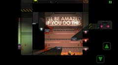Sneaky platformer Stealth Inc. currently on sale on the App Store