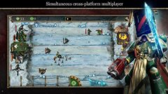 Lane-based tower defence game Warhammer 40K: Storm of Vengeance is out now