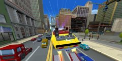 Arcade racer Crazy Taxi: City Rush has been soft-launched in Canada