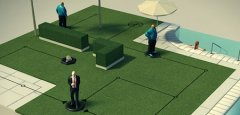 Turn-based assassination game Hitman GO will sneak onto the App Store at midnight