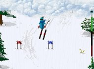 Dexterity testing downhill skier Dudeski is now free on the App Store