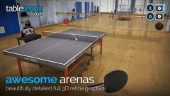 Smashing-looking table tennis sim Table Tennis Touch out now on the App Store
