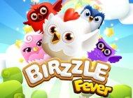 Halfbrick's new match-three puzzler Birzzle Fever is out now