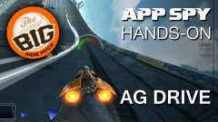 Hands-on with Very Big Indie Pitch winner AG Drive, the WipEout-style futuristic racer