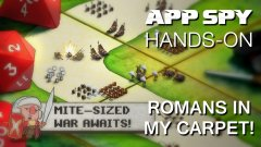 Hands-on with Romans in my Carpet!, the teeny-tiny strategy game from the creators of Ravenmark