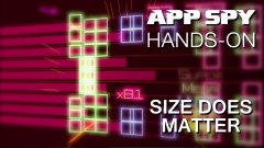 Hands-on with Size Does Matter, the bleeping tough chiptune rhythm-action game