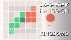 Hands-on with Kingdoms, the effortlessly cool minimalist board game