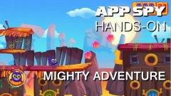 Hands-on with Mighty Adventure, the auto-running platformer with a twist