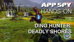 Hands-on with Dino Hunter: Deadly Shores, in which I shoot the lungs out of a dinosaur