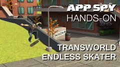 Hands-on with TransWorld Endless Skater, the tricky auto-runner with unique skater controls