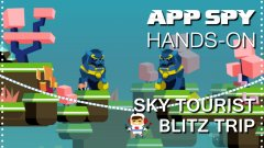 Hands-on with Sky Tourist Blitz Trip, the game that features the least safe mode of transportation yet devised