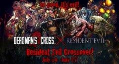 Resident Evil invades zombie CCG RPG Deadman's Cross
