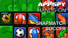 Hands-on with SnapMatch Soccer, a curious blend of tackling, toe-punting, and tile-matching