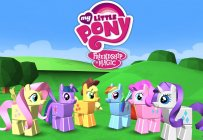 My Little Pony squares off with the Minecraft-like building game Blocksworld HD
