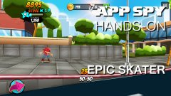 Hands-on with Epic Skater, the rad auto-runner made by ex-Tony Hawks devs