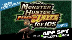 Learn how to play Monster Hunter Freedom Unite with AppSpy - Part 2