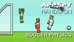 Hands-on with Soccer Physics, the ridiculous football game where you'll use just one button in every match