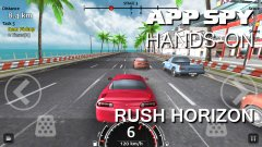 Hands-on with Rush Horizon, the endless-racer for nineties arcade fans