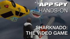 Hands-on with Sharknado: The Video Game, in which we discover that a tornado full of sharks does not a good game make