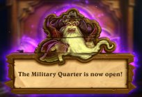 Attention: The Military Quarter is now available in Hearthstone