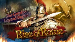 Battle rival factions and build a prosperous empire in Rise of Rome
