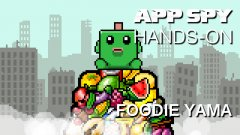 Hands-on with Foodie Yama, the pixel art chomp-em-up
