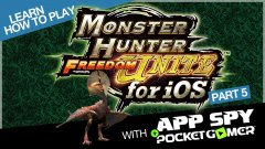 Learn how to play Monster Hunter Freedom Unite with AppSpy - Part 5